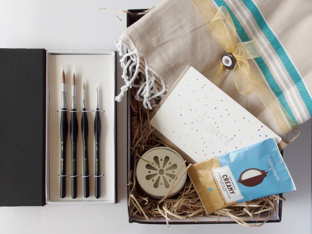 Boxable gift boxes