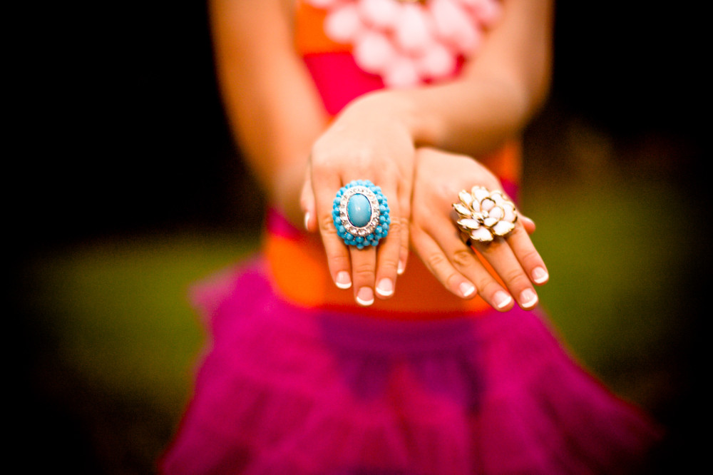 public-domain-images-free-stock-photos-girl-tutu-pink-orange-turquoise-rings-hands-1000x666