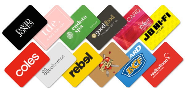 GroupTogether gift cards - giving the gift of choice!