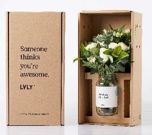 LVLY flowers + treats