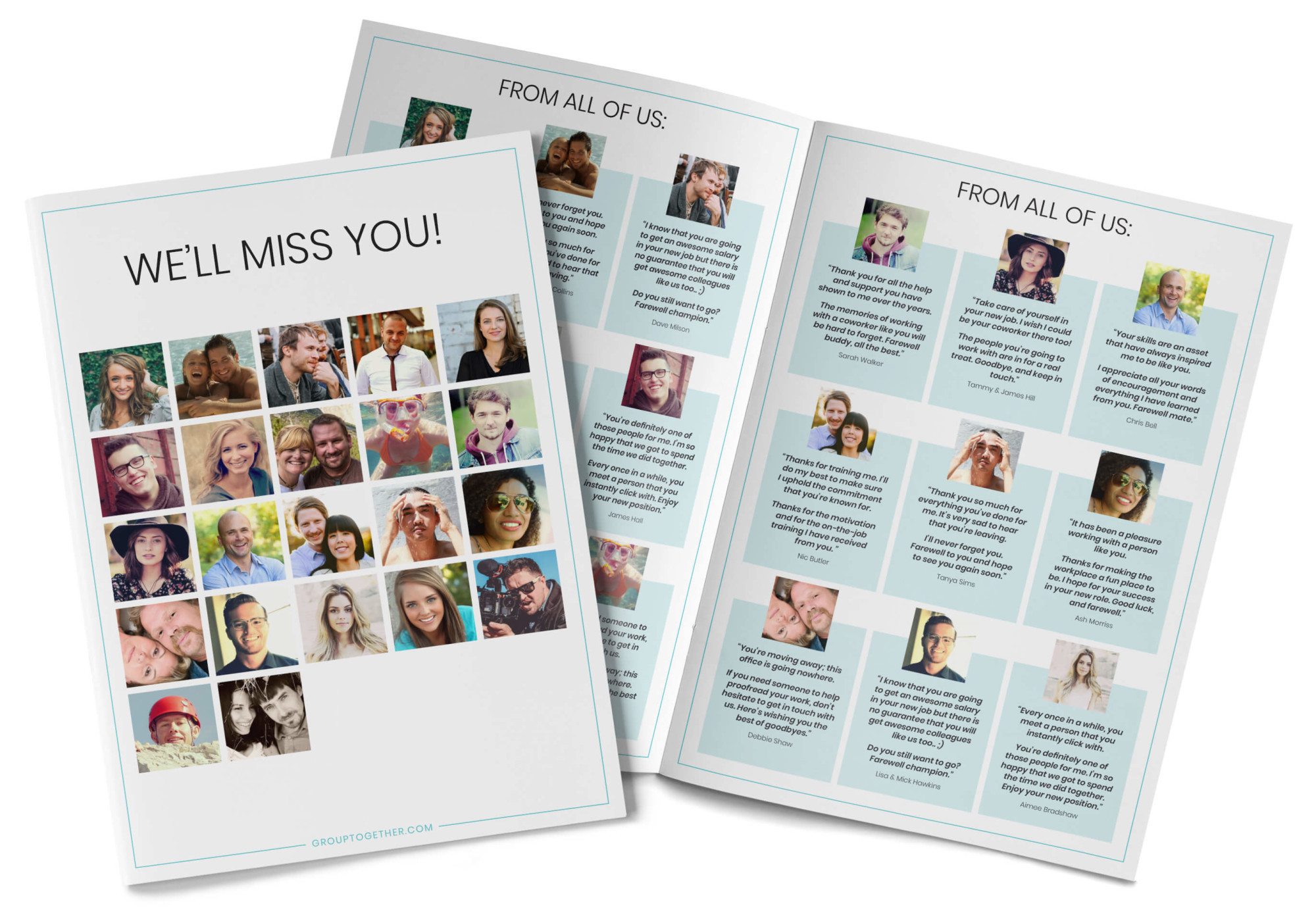 What to Write on a Farewell card