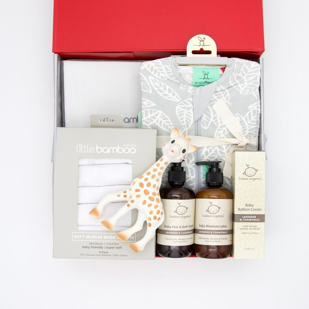 GroupTogether for a baby hamper from Little Kisses