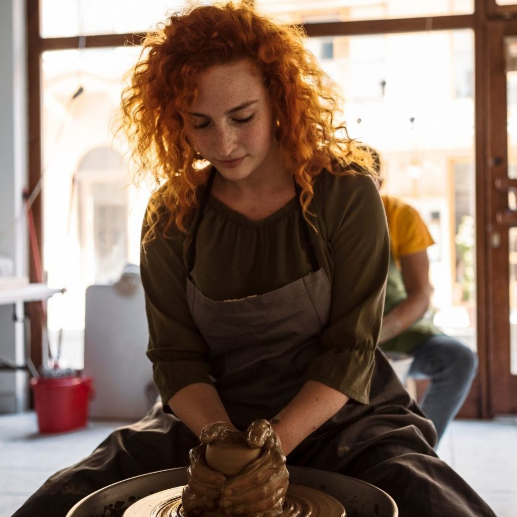 Galentine's Day Ideas: Pottery Class