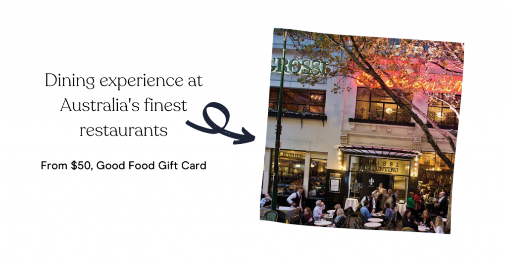 Dining experience at Australia's finest restaurants