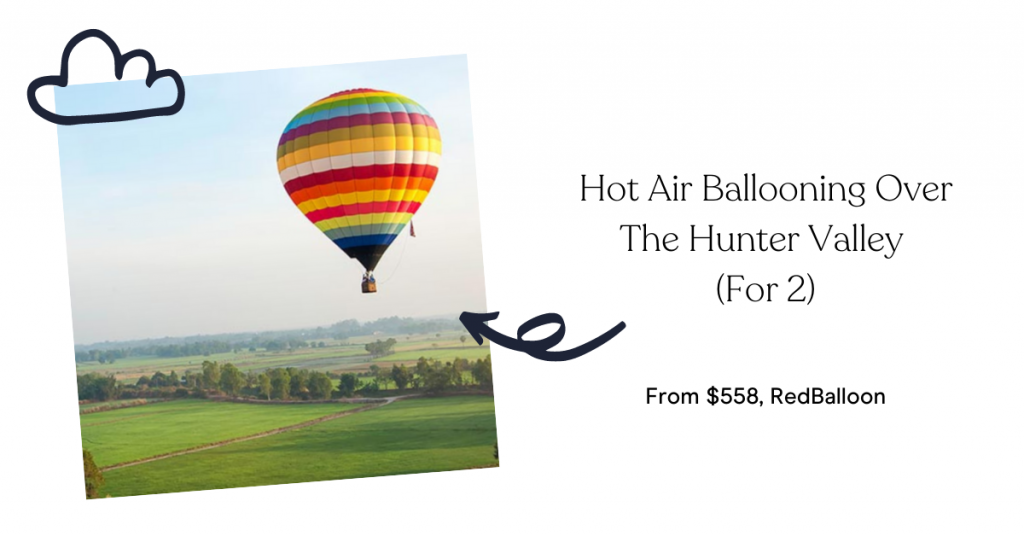 Hot Air Ballooning Over The Hunter Valley (For 2)